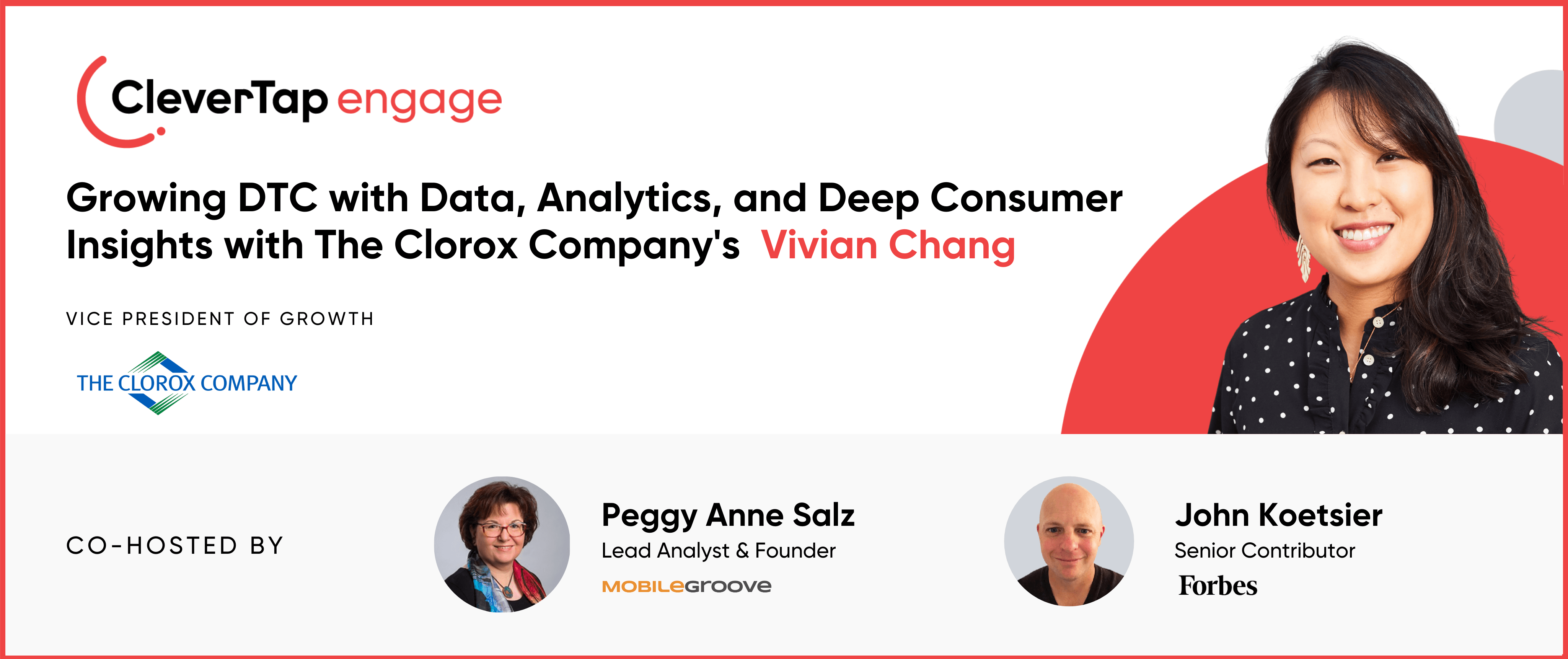 How Clorox VP of Growth Vivian Chang Harnesses Data and Predictive Modeling to Grow Direct-to-Consumer Business