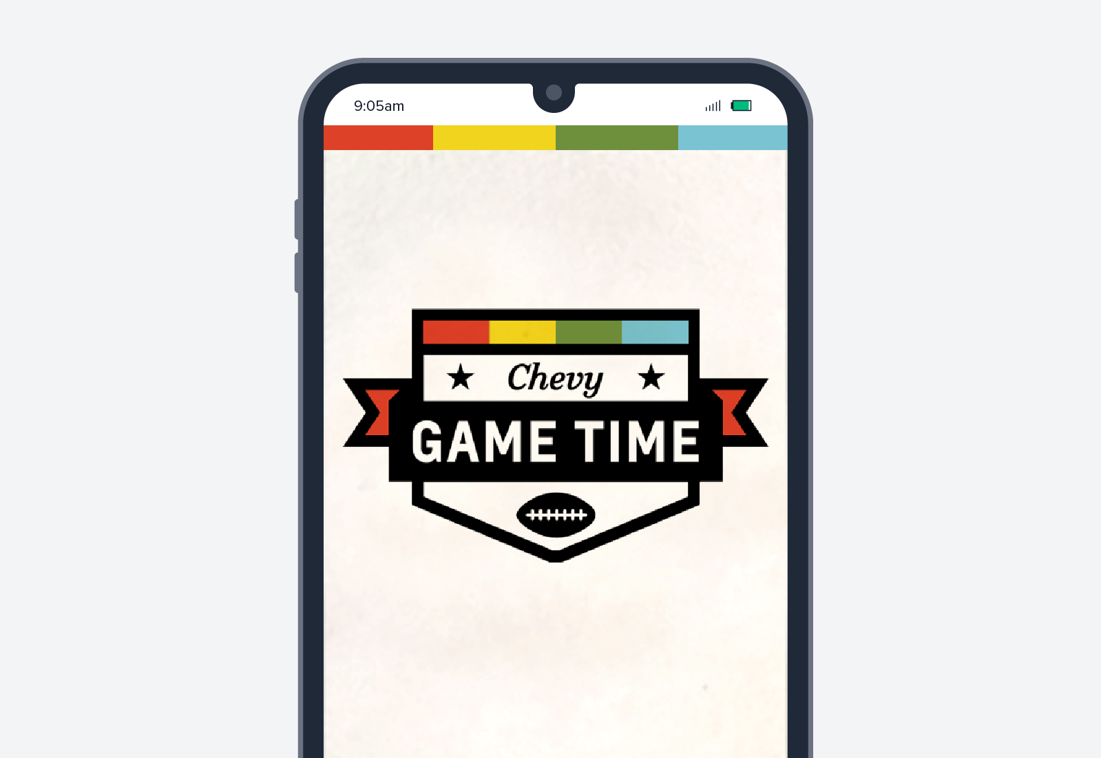 chevy mobile advertisement
