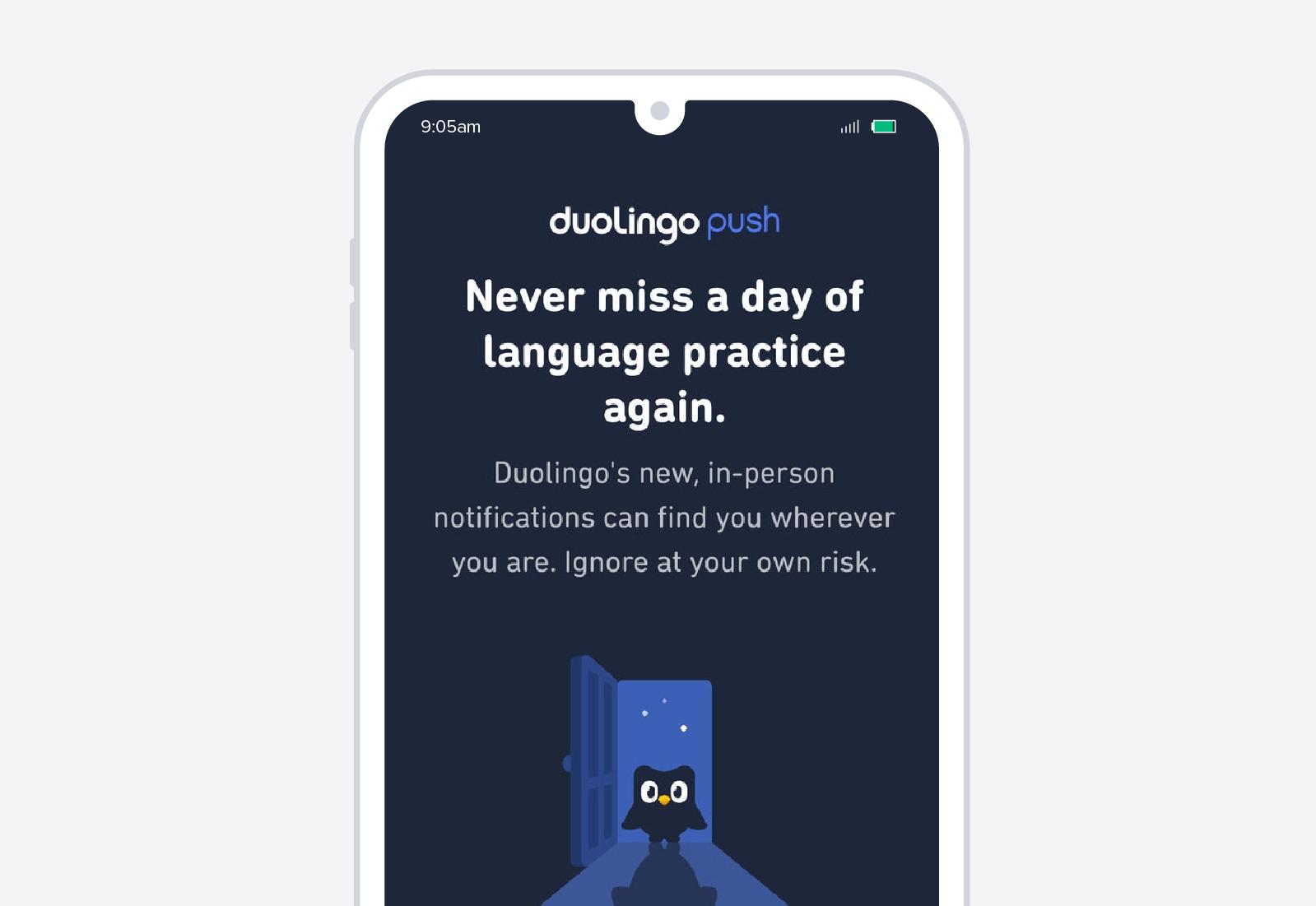 duolingo mobile advertisement