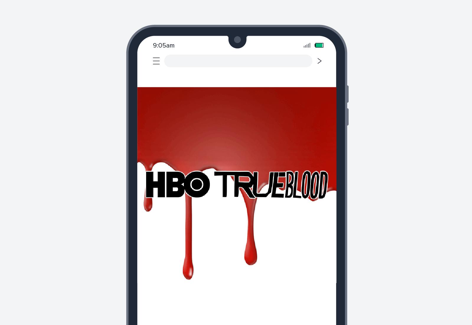 hbo true blood advertisement