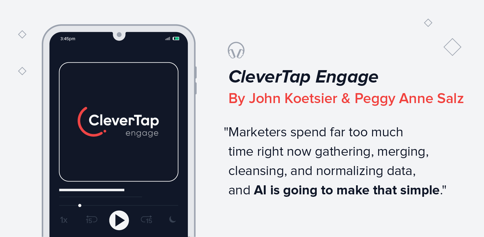 quote from Clevertap Engage