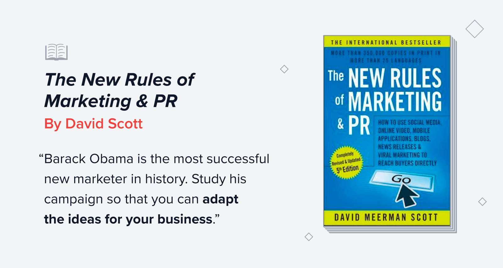 The New Rules of Marketing and PR quote