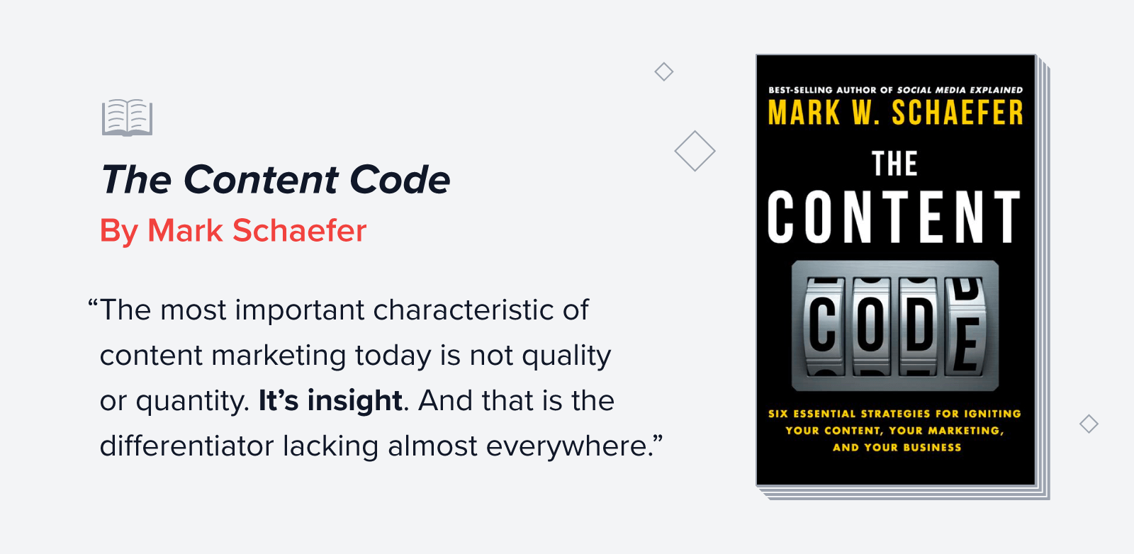 The Content Code quote
