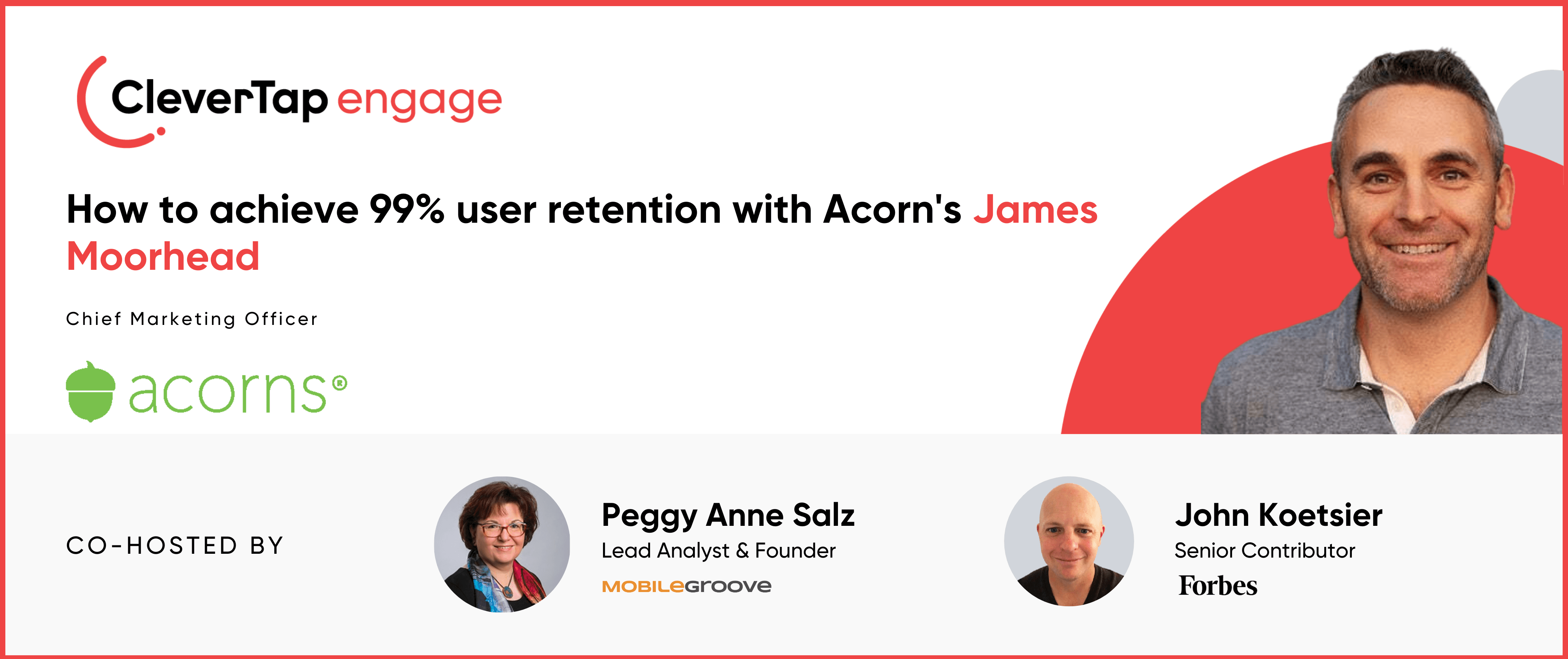 How Acorns' CMO James Moorhead Drives 99% Retention With Personalized Gamification and Customer Education